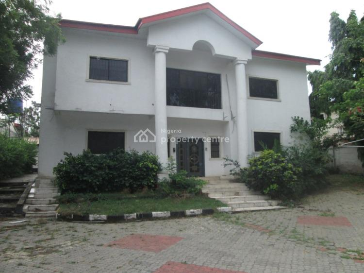 5 Bedroom Duplex + 1 Bedroom Guest Chalet and 2 Rooms Bq, Off Aso Drive, Maitama District, Abuja, Semi-detached Duplex for Sale