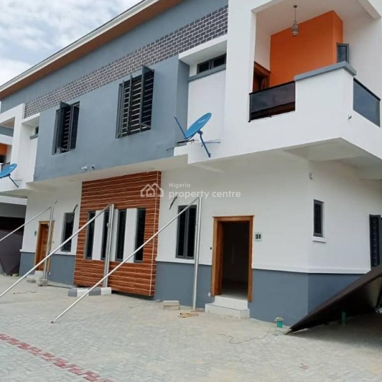 Luxury Finished 4 Bedroom Semi Detached Duplex with Bq, Chevron Drive., Lekki, Lagos, Semi-detached Duplex for Sale