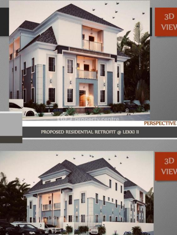 4 Bedroom Semi-detached Penthouse Duplex with Bq, Lekki Peninsula Scheme 2, Ogombo, Ajah, Lagos, Semi-detached Duplex for Sale