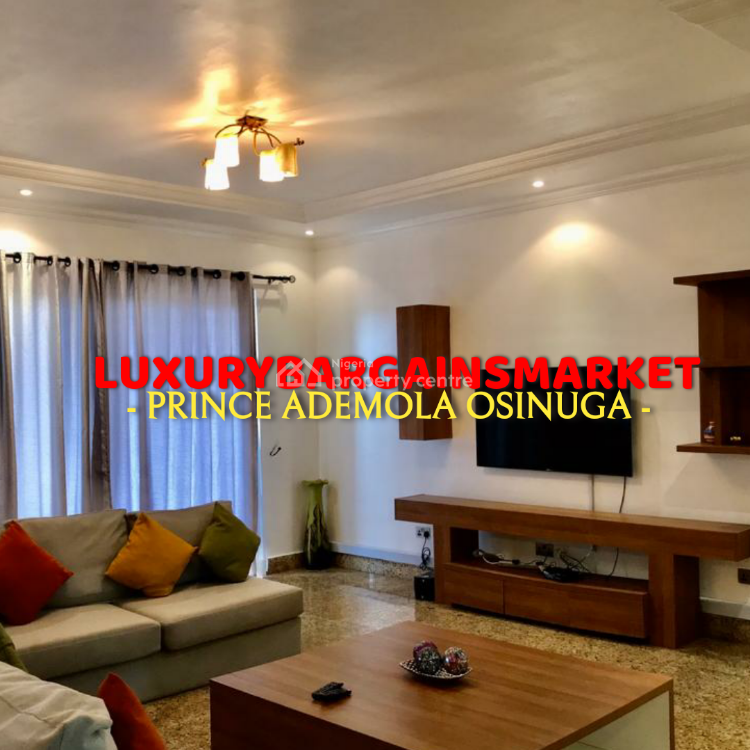 Great Deal! Fully Furnished 3 Bedrooms Apartment, Old Ikoyi, Ikoyi, Lagos, Flat for Rent