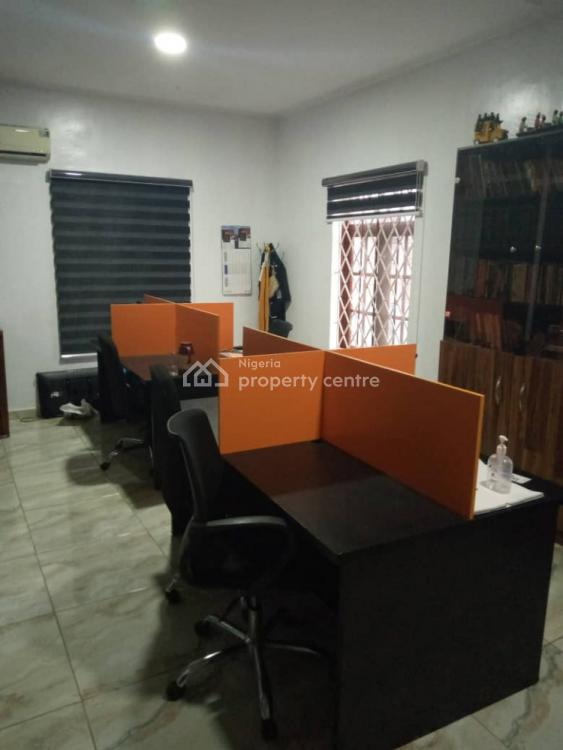 170sqm Open Plan Office Space on Strategic Road, Allen, Ikeja, Lagos, Office Space for Rent
