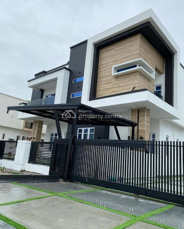 Beautiful Luxurious 5 Bedroom Fully Detached Duplex with Bq, 2nd Toll Gate, Lekki, Lagos, Detached Duplex for Sale