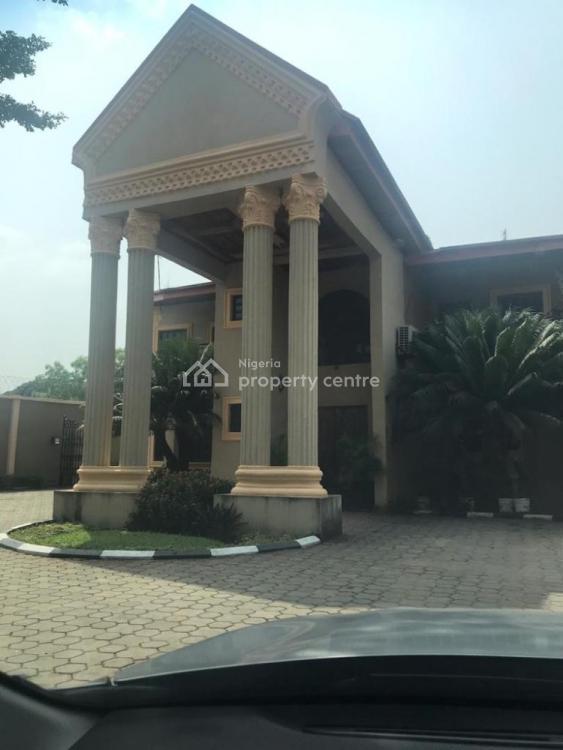 5 Bedroom Detached House with 3 Rooms Guest Chalet, 2 Room Service Quarter, No 1b Sowemimo Street, Ikeja Gra, Ikeja, Lagos, Detached Duplex for Sale