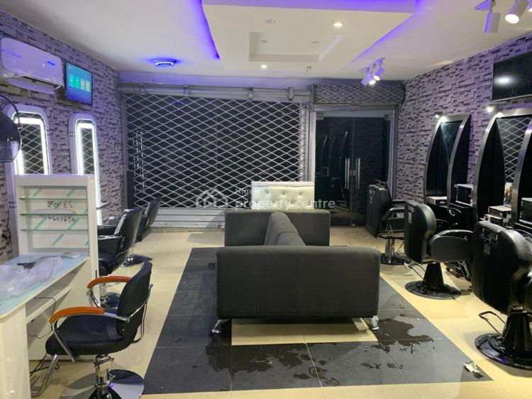 a Fully Equipped Hair Saloon, Osapa, Lekki, Lagos, Block of Flats for Sale