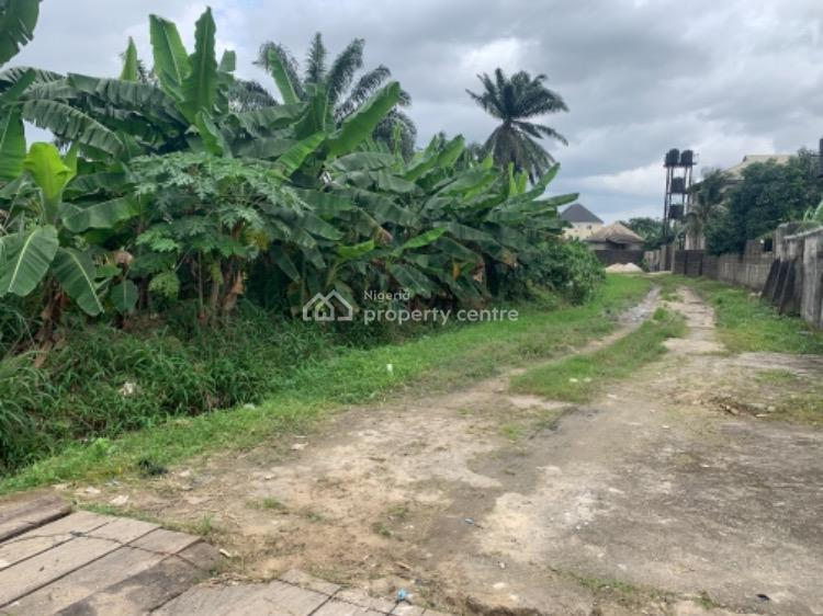 a Parcel of Land, Rumuehinwo Housing Estate, By Timaya Avenue, Rukpokwu, Port Harcourt, Rivers, Mixed-use Land for Sale