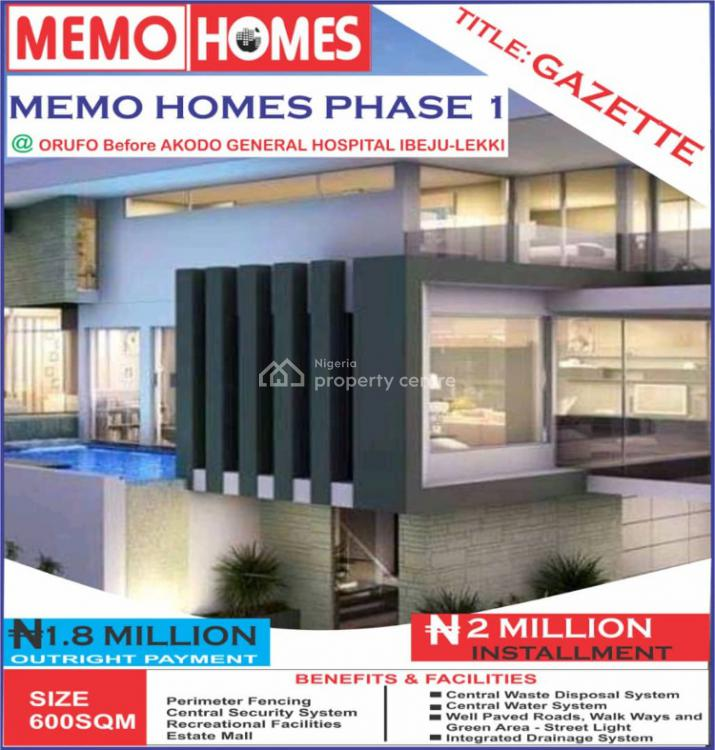 Land in a Built Up Environment, Akodo Ise, Ibeju Lekki, Lagos, Mixed-use Land for Sale