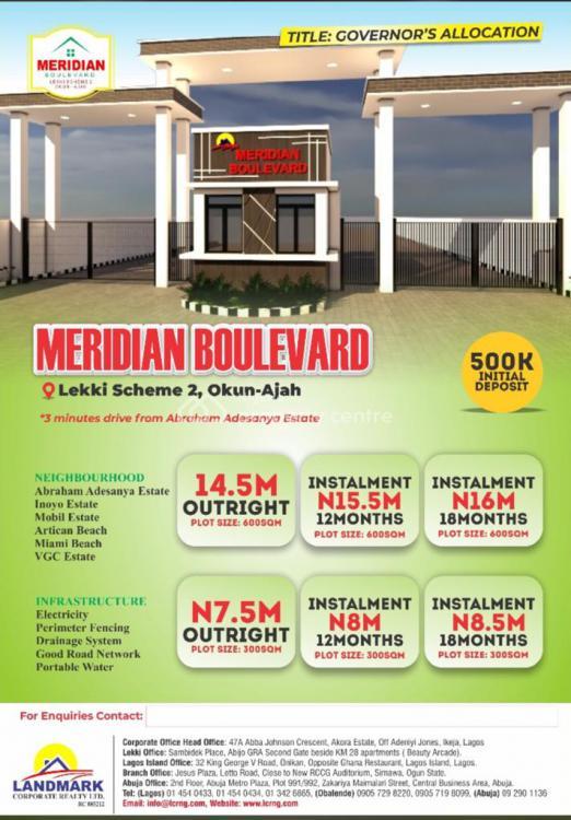 Estate Land, Okun Ajah, After Abraham Adesanya, Sangotedo, Ajah, Lagos, Residential Land for Sale