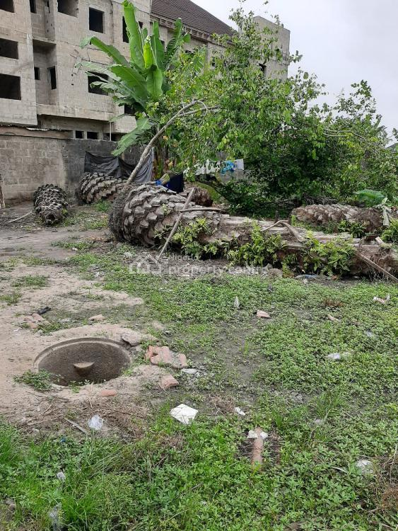 Fully Fenced Land, Off Ogbombo Road, Lekki Phase 2, Lekki, Lagos, Residential Land for Sale