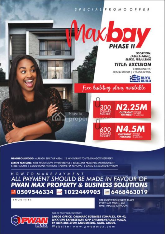 Land, Ibeju Lekki, Lagos, Residential Land for Sale