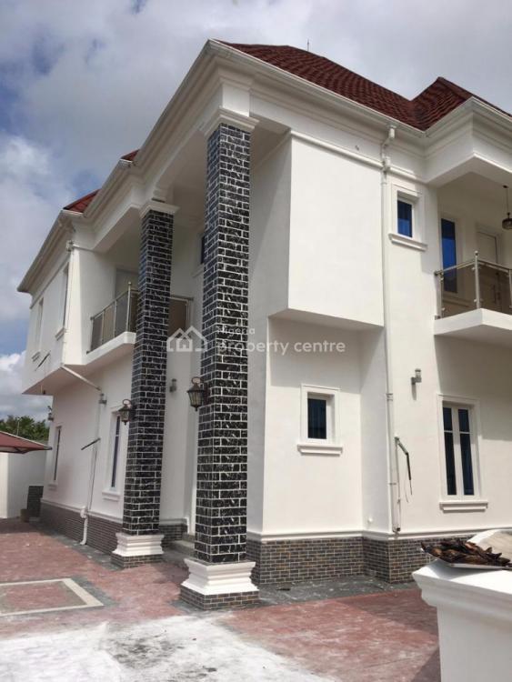 Luxury 4 Bedroom Duplex with Bq, Crown Estate, Sangotedo, Ajah, Lagos, Detached Duplex for Sale