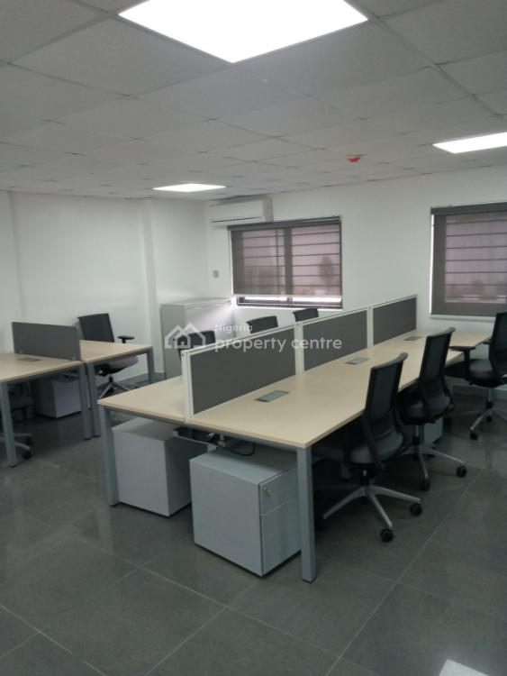 30 Man Fully Equipped Virtual Office with Meeting Rooms., Off Kingsway Road, Old Ikoyi, Ikoyi, Lagos, Office Space for Rent