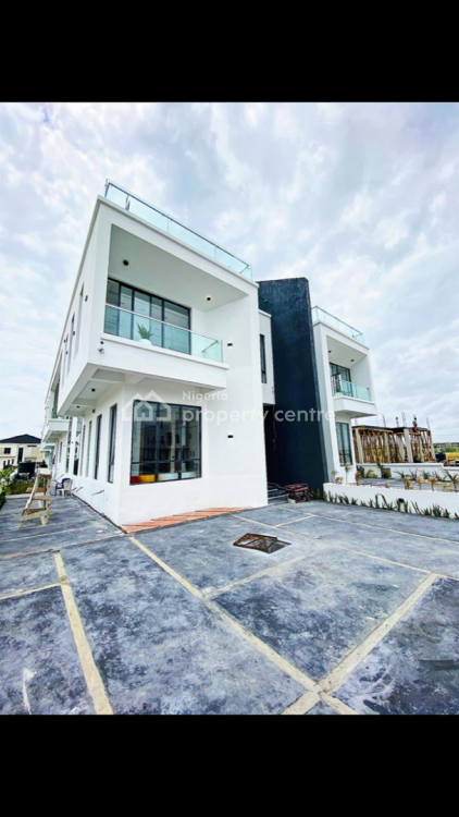 4 Bedroom Semi Detached Duplex with a Maids Room, Fitted Kitchen, Ikate, Lekki, Lagos, Semi-detached Duplex for Sale