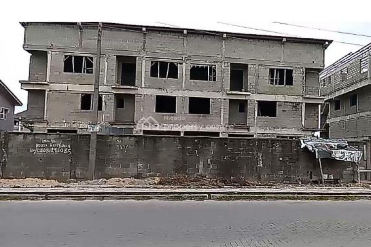 1100sqm Land with 2 Units of Semi Detached Houses and Parking Space, Ocean Side Rhs, Lekki Phase 1, Lekki, Lagos, Residential Land for Sale