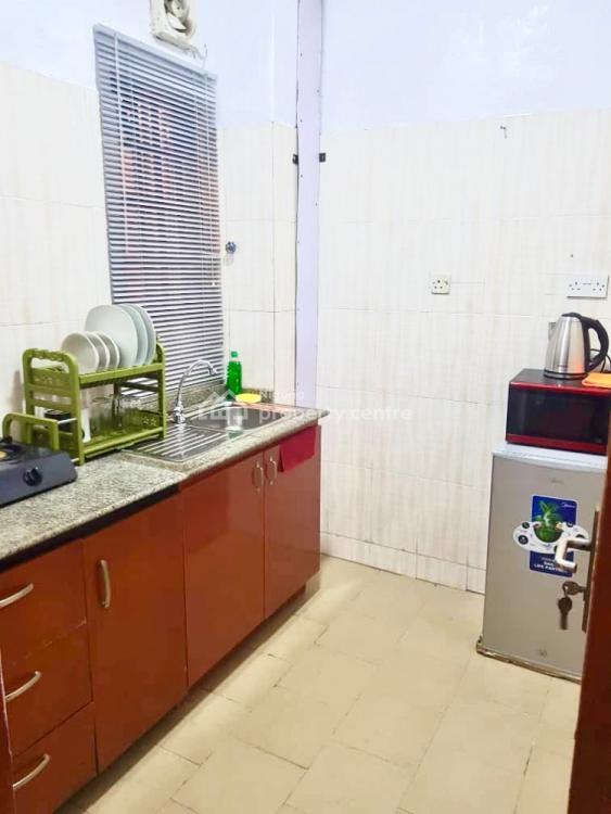 1 Bedroom Luxury Serviced Flat, Chief Anthony Enahoro Estate Phase 1 Off Wempco Road, Ogba, Ikeja, Lagos, Mini Flat Short Let