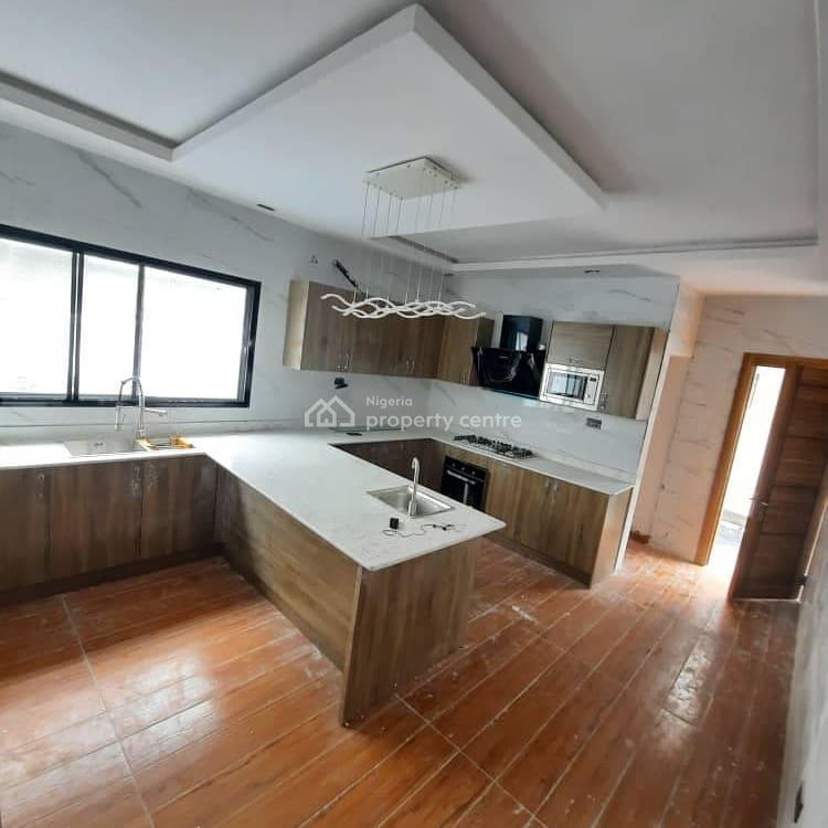 5 Bedroom Luxury Detached Duplex + Bbq (swimming Pool), Chevron, Lekki, Lagos, Detached Duplex for Sale