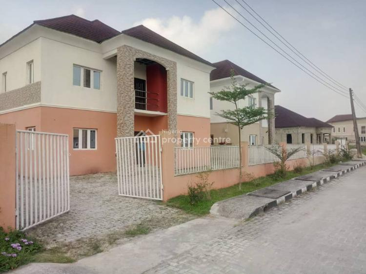 Newly Built 4 Bedroom Fully Detached Duplex with Additional Bq, By Alpha Hydrocarbon Filling Station,, Sangotedo, Ajah, Lagos, Detached Duplex for Sale