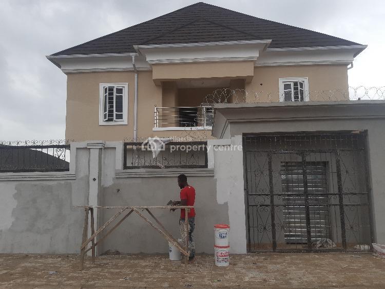 Fine Newly Built 2 Bedroom Flat Pop Ceiling, Ekoro Abule Egba, Ijaiye, Lagos, Flat for Rent