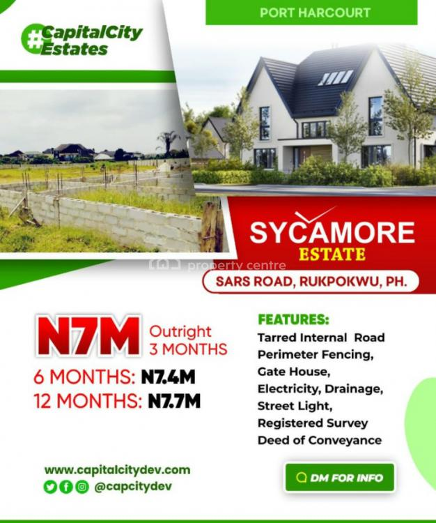Good Commercial Land, Sycamore Estate Sars Road Rukpokwu Porthartcourt, Rukpokwu, Port Harcourt, Rivers, Commercial Land for Sale