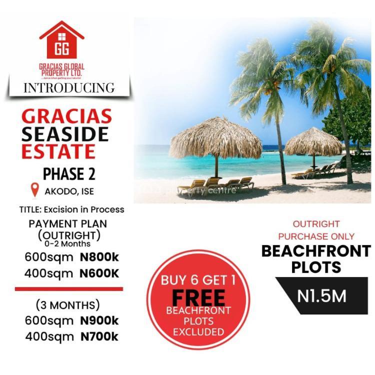 Dry Land, *gracias  Seaside Estate Phase 2*, Akodo Ise, Ibeju Lekki, Lagos, Residential Land for Sale