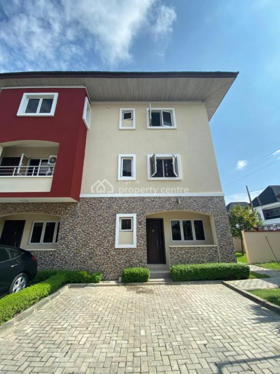 Well Finished Serviced 3-bedroom Terrace House, Osapa, Lekki, Lagos, Terraced Duplex for Rent