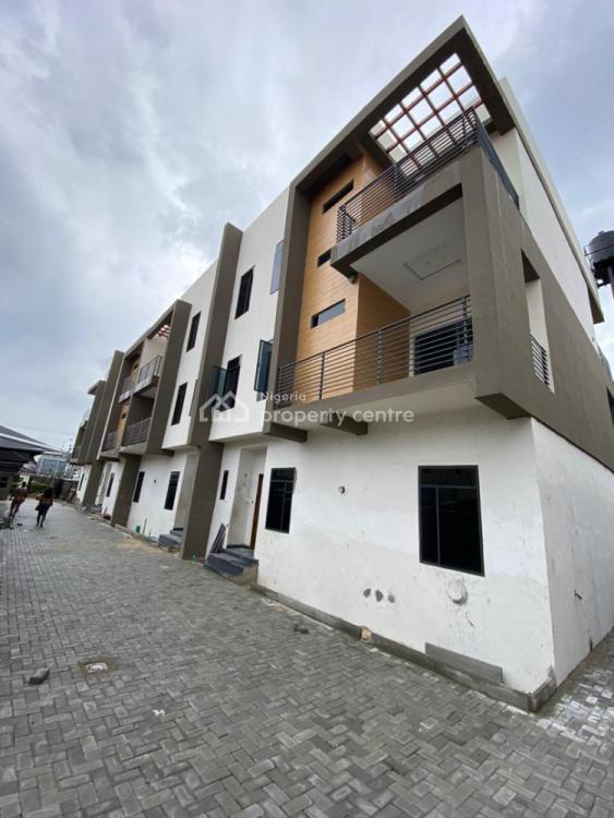 Vacant 4 Bedrooms Terraced. Duplex with Bq, Behind Ebeano, Oniru, Victoria Island (vi), Lagos, Terraced Duplex for Sale