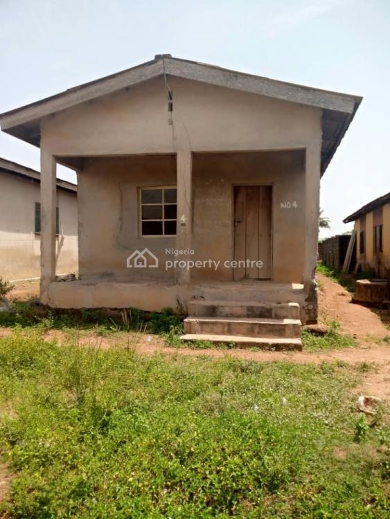 4 Bedrooms Bungalow on  Half Plot of Land 30ft × 120ft, Ajegunle, Ketu, Lagos, Detached Bungalow for Sale