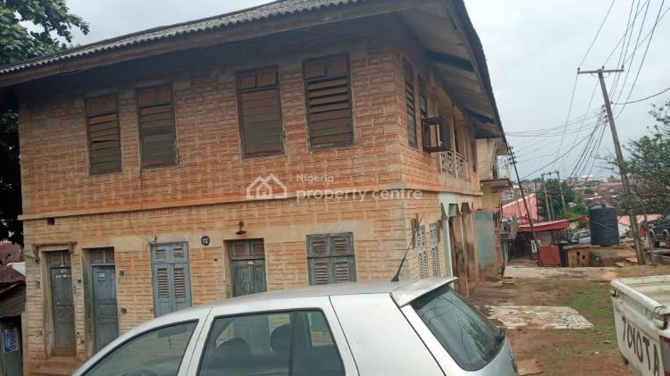 Dilapidated Building on 400sqm Land, Off Ogui Road, Close to Stadium, Enugu, Enugu, Block of Flats for Sale