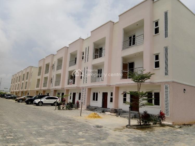Tastefully Furnished 4 Bedroom Terraced Duplex with a Room Bq, Ilasan, Lekki, Lagos, Terraced Duplex for Rent