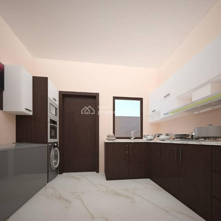 Nicely Built 5 Bedroom Detached Duplex with a Pent House & Bq, Osapa, Lekki, Lagos, Detached Duplex for Sale