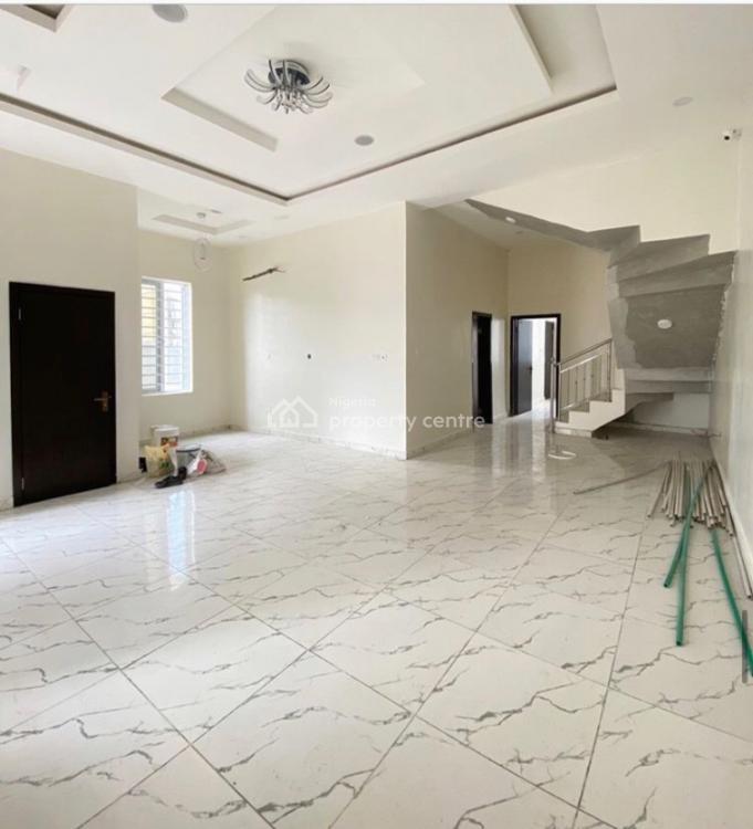 Brand New 4 Bedrooms Semi Detached Duplex with a Room Bq, Chevron, Lekki, Lagos, Semi-detached Duplex for Sale