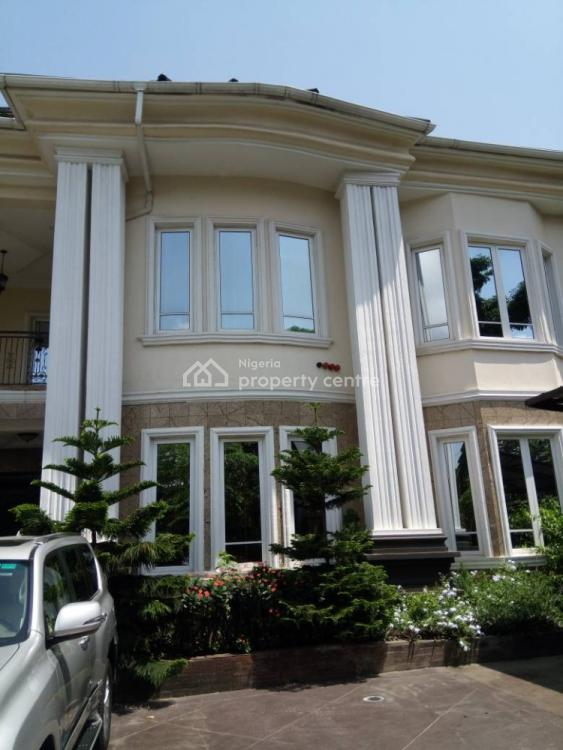 5 Bedroom Fully  Detached House with Bq, Swimming Pool, Garden., Ruxton Road, Old Ikoyi, Ikoyi, Lagos, Detached Duplex for Sale