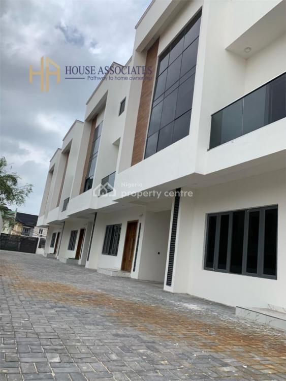 Newly Built 4 Bedroom Terrace Duplex, Before Chevron, Ikota, Lekki, Lagos, Terraced Duplex for Sale