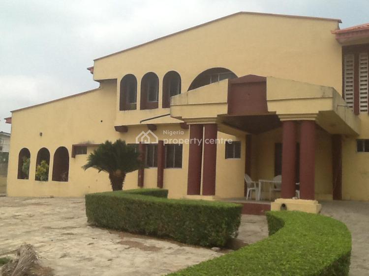 5 Bedroom Duplex + 3 Bedroom Flat with 2 Rooms Bq on 1800sqm Plot, New Bodija, Ibadan, Oyo, Detached Duplex for Sale