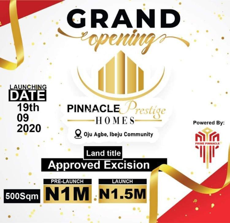 Dry Land, Pinnacle Prestige Homes,, Ibeju Lekki, Lagos, Land for Sale