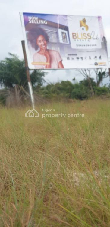 Good Dry Land in a Secured Estate and Great Location, 5 Minutes Drive From The Lacampaigne Tropicana Beach Resort, Okun Imosan, Ibeju Lekki, Lagos, Residential Land for Sale
