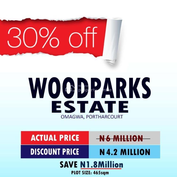 Dry Land, Wood Park Estate, Omagwa, Port Harcourt, Rivers, Residential Land for Sale