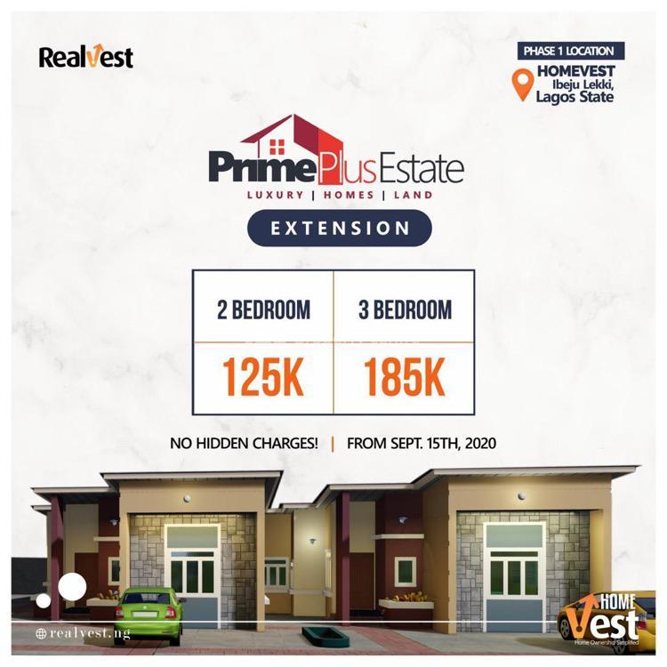 2 Bedroom Flat., Elerangbe, Ikegun, Ibeju Lekki, Lagos, Mini Flat for Sale