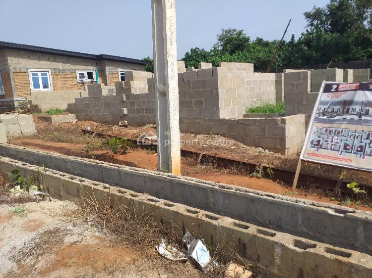 Luxury Semi Finished 2 Bedrooms Bungalow Within an Estate, Precious Peace Housing Estate, Close to Lagos State Polytechnic, Maya, Ikorodu, Lagos, Semi-detached Bungalow for Sale