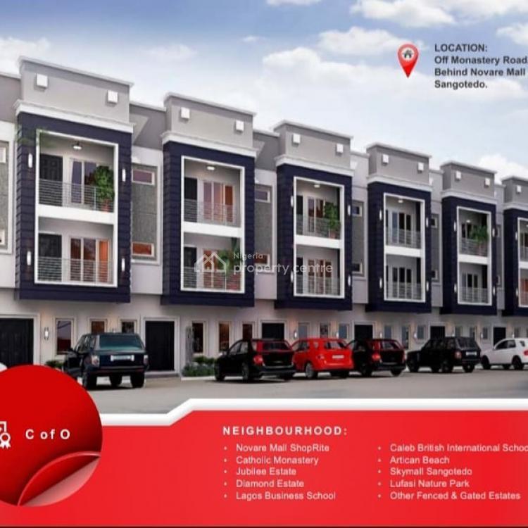 Own a 3 Beedroom Apartment, Gracias Goldstone Residence, Sangotedo, Ajah, Lagos, Mini Flat for Sale
