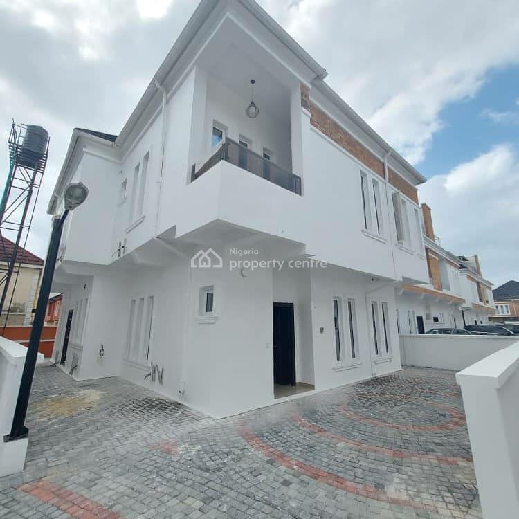 Luxury 5 Bedroom Fully Detached Duplex with Bq, Oral Estate By 2nd Toll Gate Chevron, Lekki, Lagos, Detached Duplex for Rent