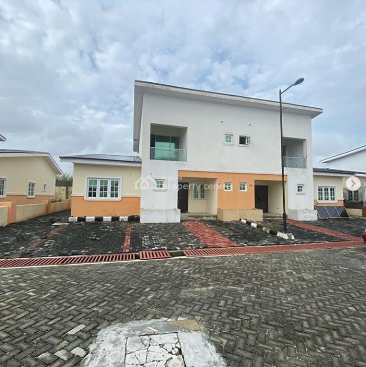 Fully Serviced 4 Bedroom Semi Detached, Chevron Drive, Lekki Phase 2, Lekki, Lagos, Semi-detached Duplex for Sale