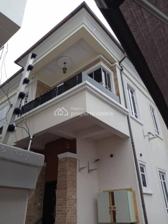4 Bedroom Semi-detached with a B/q, Westend Estate, Ikota, Lekki, Lagos, Semi-detached Duplex for Rent