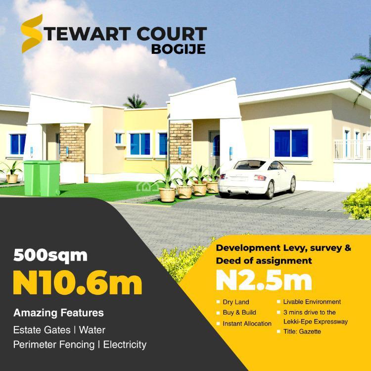 Serviced Plot, Off Wash Tower Road, Bogije, Ibeju Lekki, Lagos, Residential Land for Sale
