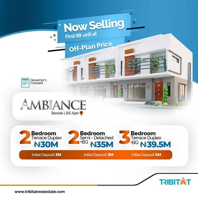 2 Bedroom Terrace Duplex, Abraham Adesanya, Ajah, Lagos, Terraced Duplex for Sale