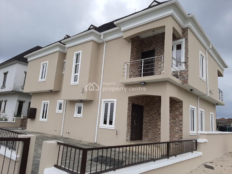Spacious Brand New 4 Bedroom Duplex  Plus Bq, Peace Garden Estate, Sangotedo, Ajah, Lagos, Detached Duplex for Sale