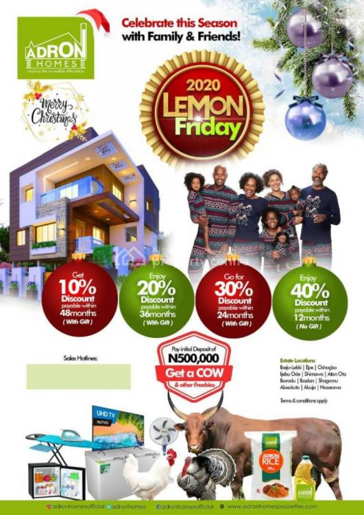 Adron Homes Estate with Installment Payment, Imota, Erunwen, Ikorodu, Lagos, Mixed-use Land for Sale