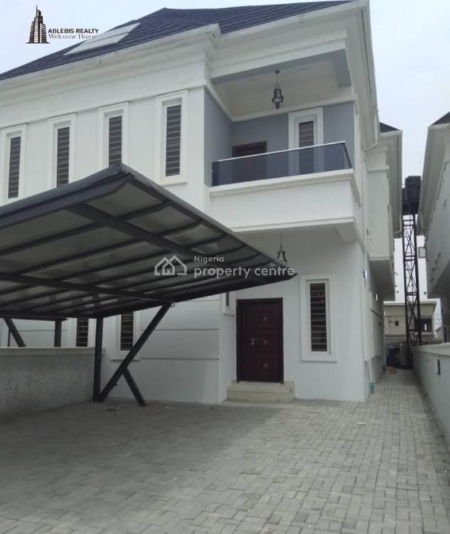 Luxury Finished 4 Bedroom Semi Detached Duplex with Bq, Orchid Road, Off Lekki Second Tollgate, Chevron, Lekki Expressway, Lekki, Lagos, Semi-detached Duplex for Sale