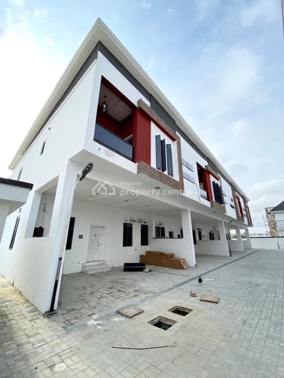 Fully Serviced 3 Bedroom Terraces, By The 2nd Toll Gate, Lekki, Lagos, Terraced Duplex for Rent