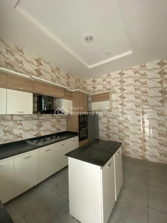 Fully Serviced 4 Bedroom Semi Detached Duplex with B.q, By Lekki 2nd Toll Gate, Lekki, Lagos, Semi-detached Duplex for Sale