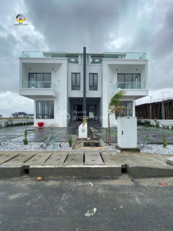 Luxuryhome 5 Bedroom Duplex with Bq and Swimming Pool Cinema, Ikate, Lekki, Lagos, Semi-detached Duplex for Sale